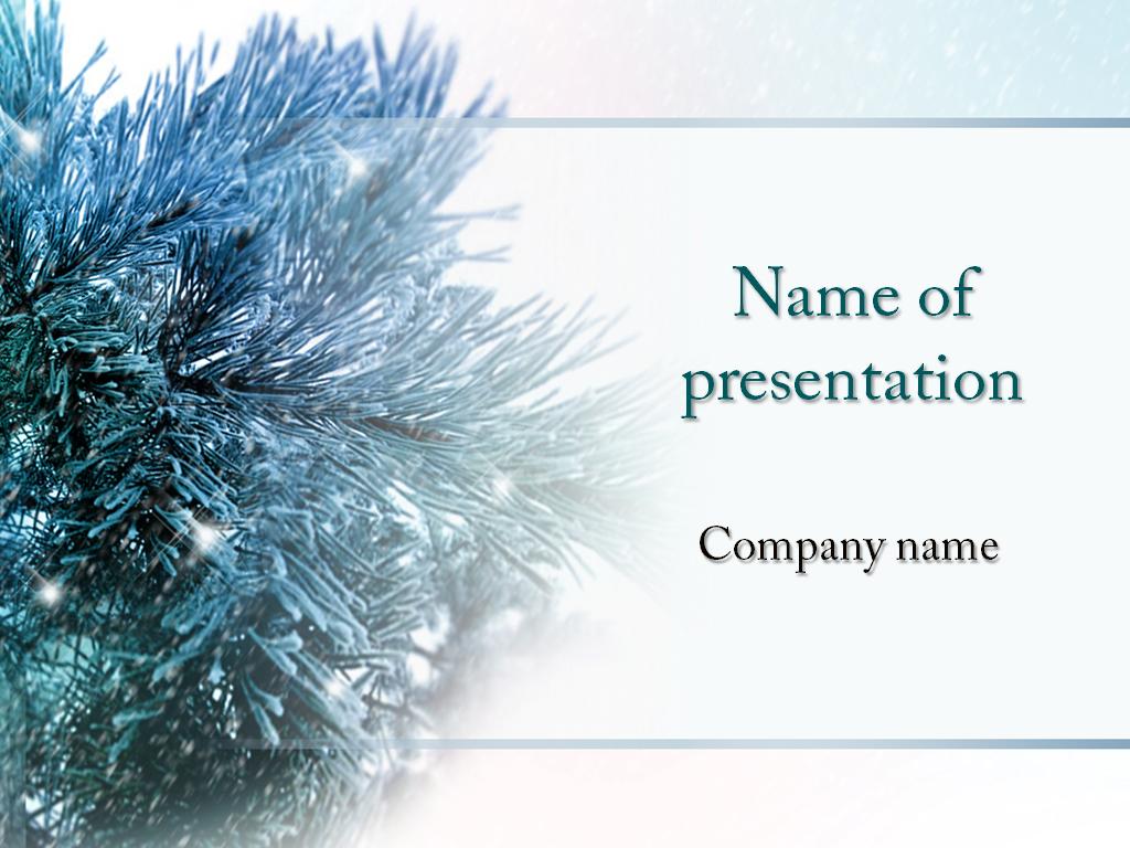 Christmas Season powerpoint template presentaion