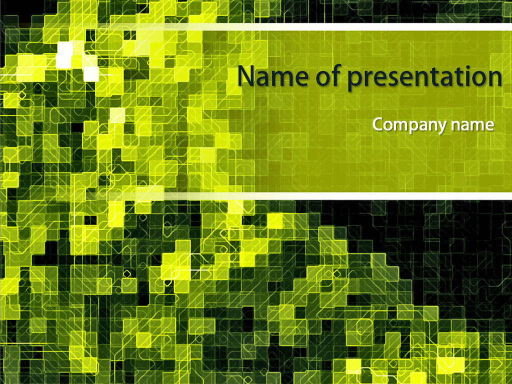 Free Integrated Circuit powerpoint template presentation
