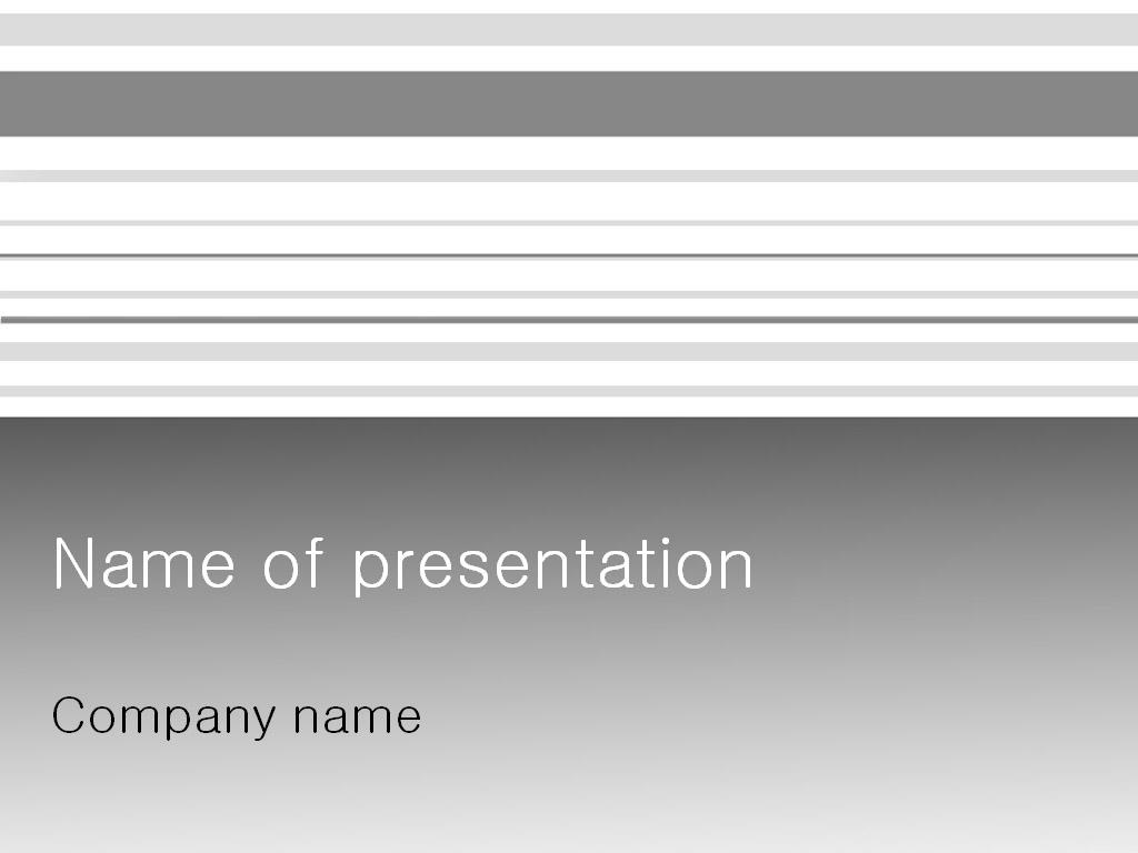 Free White Columns PowerPoint template presentation