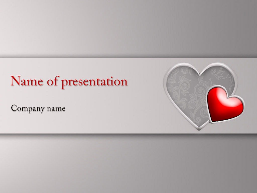 Free valentines day powerpoint template presentation