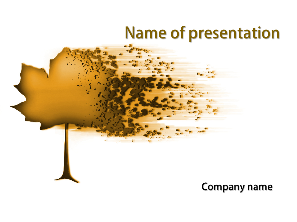Free Brown powerpoint templates presentation.