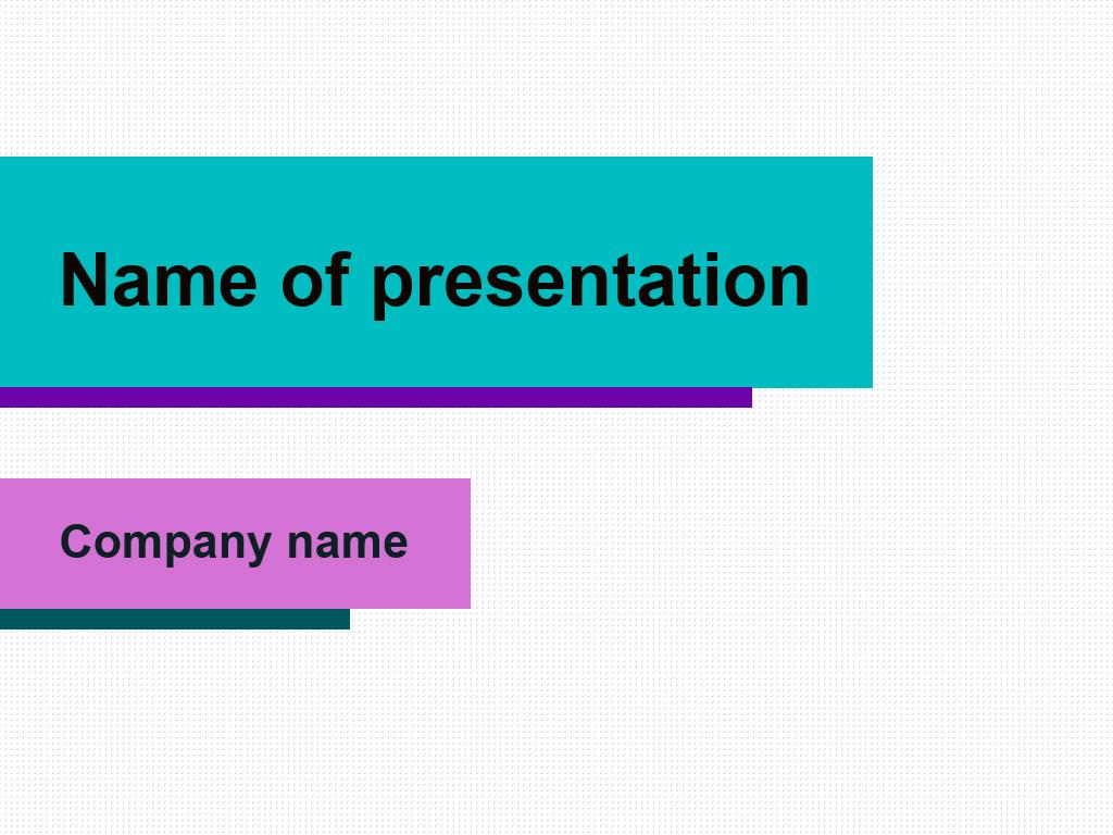 Free Purple Bar powerpoint template presentation
